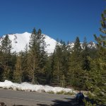 """another of Mount Lassen from """"Devastated Area"""""""