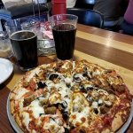Upstairs Bar & Grill Pizza Supreme