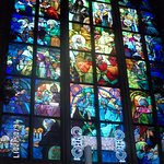 Amazing stained glass :) Every part of it is more mysterious then other :D