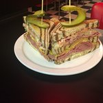 Rueben Clubhouse Sandwich...In house made corned beef!