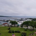 View from top of fort