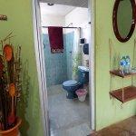 Cabane avec salle de bain