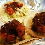 new hours, kitty ninja melt, pork chop in a box, street tacos!
