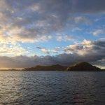 Mana Island - sunset