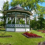 Bandstand in centre of the gardens