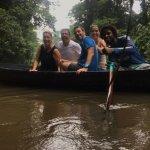 Visita en canoa al parque natural Tortuguero, Costa Rica, con Keysi Tours. INCREÍBLE!!!