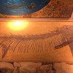 genuine fossil fish, older than dirt!