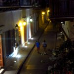 El paseo nocturno y el encanto de Cartagena.
