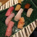 Nigiri sushi assortment