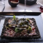 Veils of veal - veal carpaccio