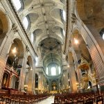 One of my favorite churches in Paris.  Usually quiet, lots of amazing history.
