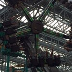 The Mutant Masher, a ride in the indoor amusement park.