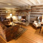living room cabin