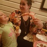 Crab claws big enough to take my daughter out.