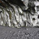 Studlaberg Basalt Columns on Reynisfjara Black Sand Beach