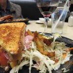 Sandwich and Salad.