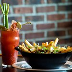Bloody Caesar and House Poutine