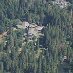 Majestic Yosemite Hotel (Awahanee) from Glacier Point