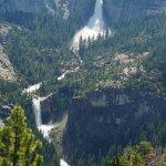 Vernal Falls from Glacier Point