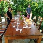Retreat group luncheon preparation!
