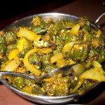 Bhindi (okra) Masala
