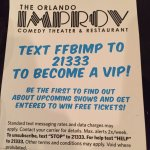 Improv Comedy Club - IDrive, Orlando