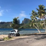 Rent an electric car on the main island, from AVIS.