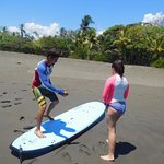 Surf class in progress!