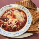SHAKSHUKA - Poached in Tomato Sauce with Toast