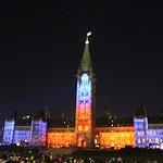 Parliament Hill -Northern Lights