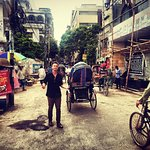 On the streets of Dhaka