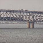 both railway and roadways in single bridge