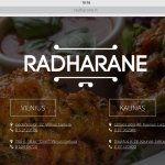 There are two Rhads in Kaunas and two in Vilnius. It is run by Hare Krishna. Good cheap food. TA