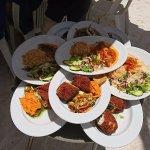Tulum Essen am Strand