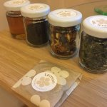Delicious, quality teas to enjoy in your room.