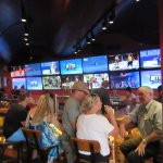 Bar Area With Sport On TVs