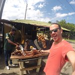 From waterfalls to delicious street food the area of jarabacoa is amazing. So raw.