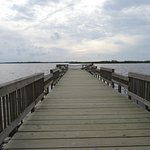 Bayside fishing pier - very close to the parking lot