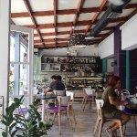 Interior of Kringlan Restaurant
