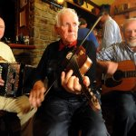 Best of Irish Traditional Musicians play nightly at Trad session from 8.30pm