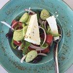 delish and refreshing traditional greek salad