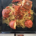 superb lobster pasta - must try!