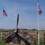 The USAAF memorial to the US aircrew who flew from Dunkeswell airfield during WWII.