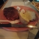 Who servers steak with a plastic fork?!!