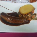 La saucisse au foie gras