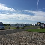 Some views of this lovely caravan site. We have booked in for the season and hope to be back nex