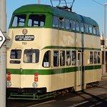 Tram from Bispham,10 minutes walk from Premier Inn.