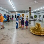 The Box Gallery has over 4000 Square Feet of Exhibition Space
