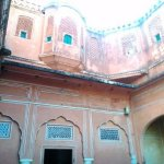 Inside, Hawa Mahal Jaipur