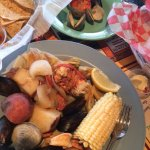 Seafood platter special